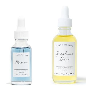 NEW Earth Harbor Biome Ampoule & Cleansing oil